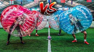 BUBBLE BALL FUßBALL MATCH ENDET BÖSE...!
