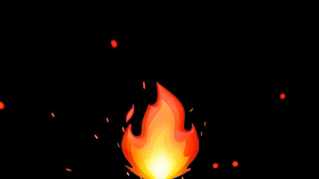 Fireplace Fire Emoji 4 Hours 🔥