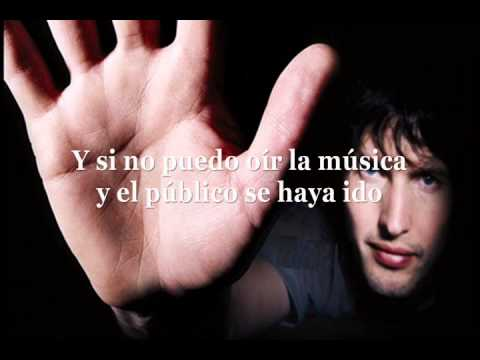 James Blunt - I Can't Hear The Music Subtitulada en español