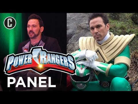 Power Rangers 25th Anniversary - Green Ranger Jason David Frank Panel - Amazing Las Vegas Comic Con