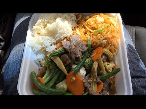 Mukilteo Thai Mixed Vegetables with Beef Lunch Combo #8 Review