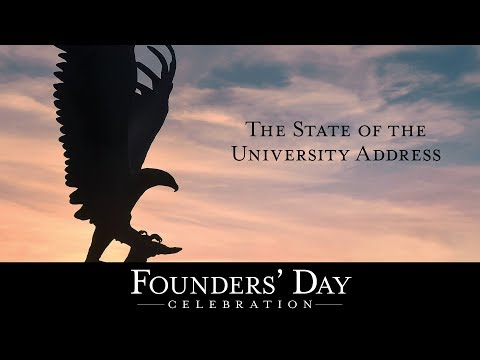 2018 Founders' Day State of the University Address