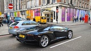 Supercars in the city 2014-Veyron,Dubai Aventador,XKR-S GT