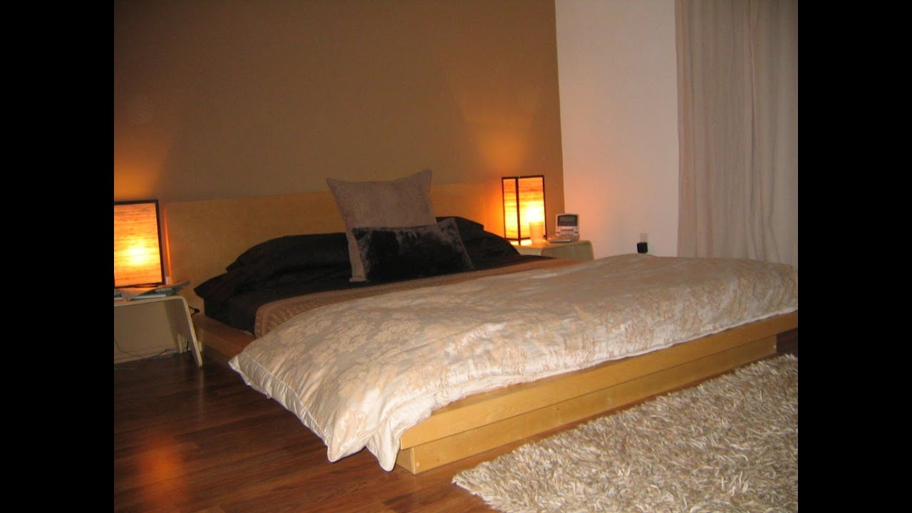 Exotic Bed Frames exotic japanese style platform bed design ideas - youtube