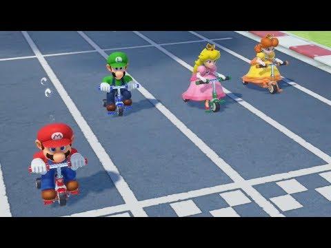 Super Mario Party - All Racing Minigames