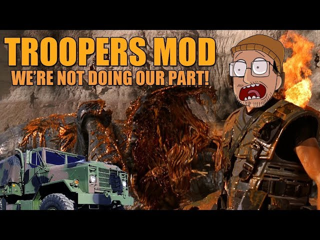 We're Not Doing Out Part! | Squad: Troopers MOD Gameplay