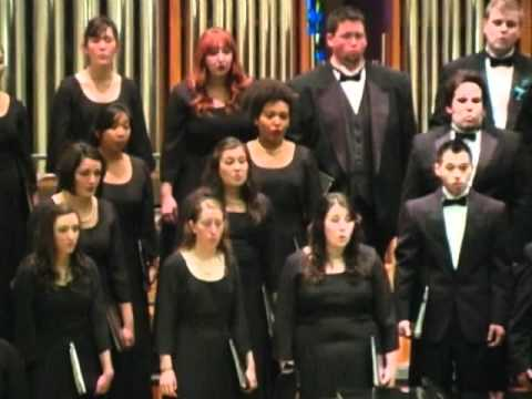 Wade in the Water - Moses Hogan (sung by SFSU Chamber Singers)