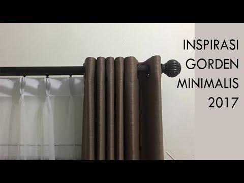 #Inspirasi 1 : Gorden Minimalis 2017
