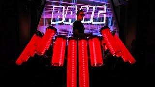 The AFISHAL DJ Drums (Visual DJ Rig)