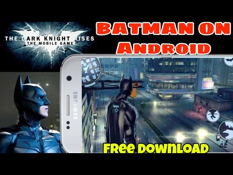THE DARK KNIGHT RISES Download On Android - TDKR BATMAN GAME Full Review