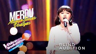 Download Vasilysa - Mungkin Hari Ini, Esok Atau Nanti | Blind Auditions | The Voice Kids Indonesia GTV 2021