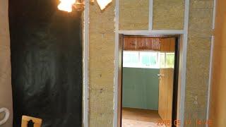 утепление стен изнутри гипсокартоном видео