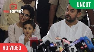 EID Press Conference 2015 | Aamir Khan | Kiran Rao | Azaad Rao Khan
