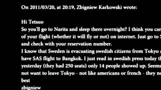 Tetsuo Furudate - Music begins for Zbigniew Karkowski
