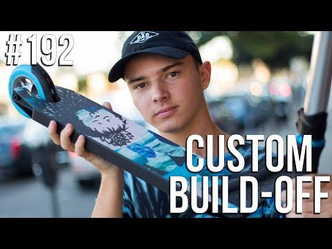 Custom Build Off 5!! - Part 1 (ft Austin Spencer) │ The Vault Pro Scooters