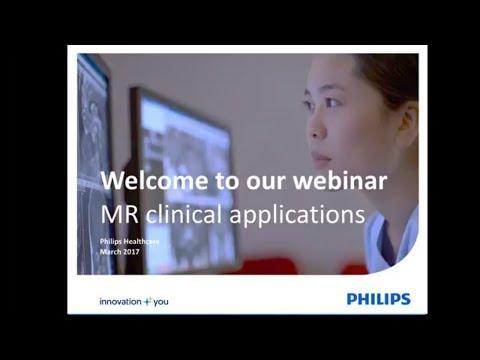 New MR clinical applications - recording live webinar
