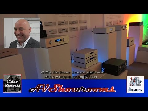 AVM Audio, New Components, Amplifiers, Streamers, DACs, By Udo Besser, Munich High End Show