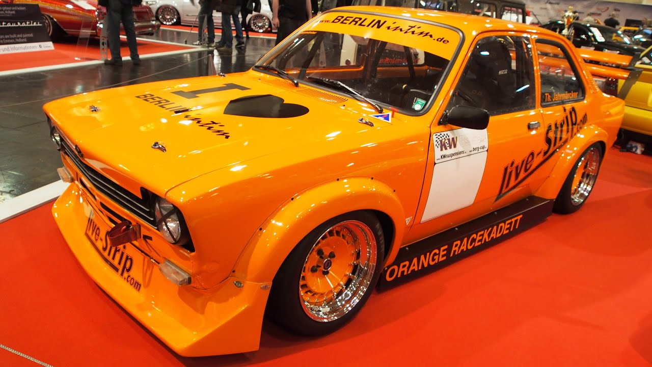 opel kadett c limo 2 0 1975 tuning at essen motorshow. Black Bedroom Furniture Sets. Home Design Ideas