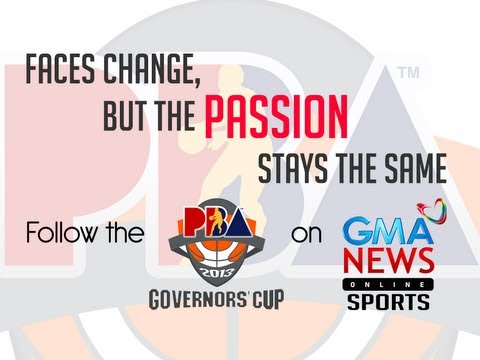 2013 PBA Governors' Cup Coverage on GMA News Online