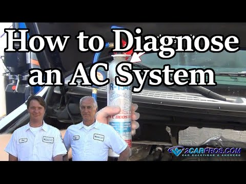 HOW TO FIX YOUR CARS AIR CONDITIONER IN MINUTES!