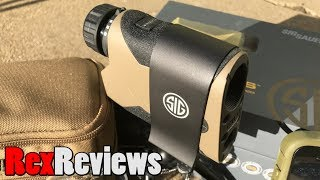 Sig KILO2400ABS - The Rangefinder that does EVERYTHING! ~ Rex Reviews