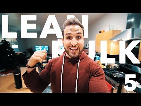 Lean Bulk Diet Diary 05 | FULL DAY OF EATING BODYBUILDING