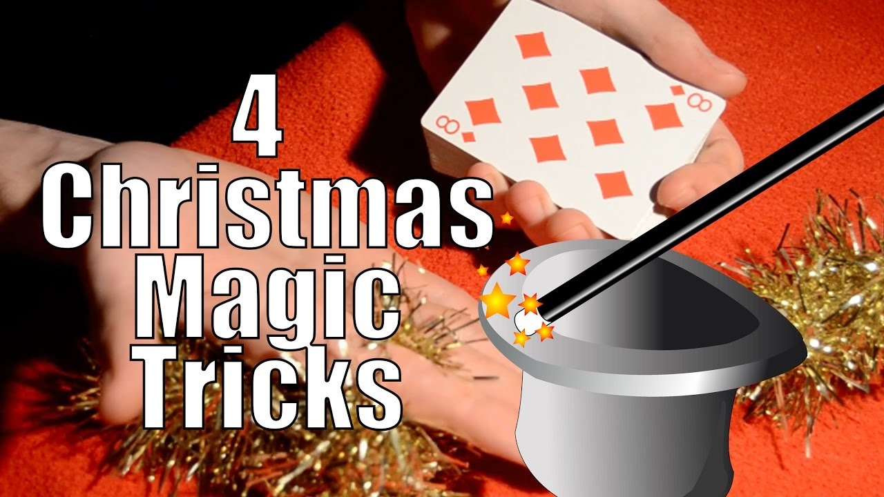 4 Amazing Christmas Magic Tricks - Tutorial