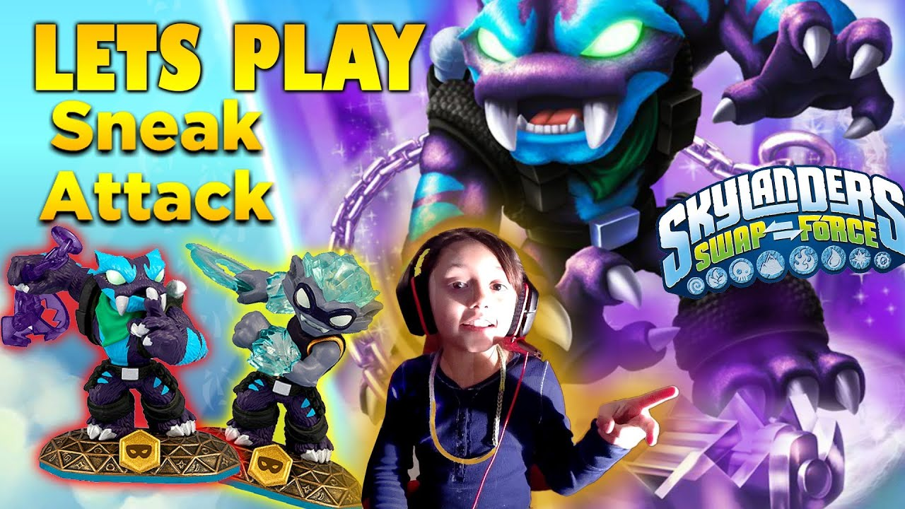 Uncategorized Skylanders Games Play Free lets play sneak attack with trap shadow skylander girl face cam swap force games online youtube