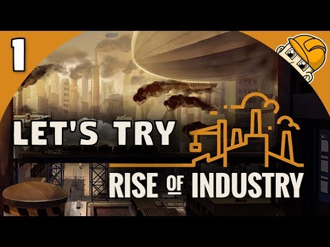 Rise of Industry 2.0 - Ep. 1 -  BUILDING OUR FOOD EMPIRE! - Lets Play Rise of Industry Gameplay