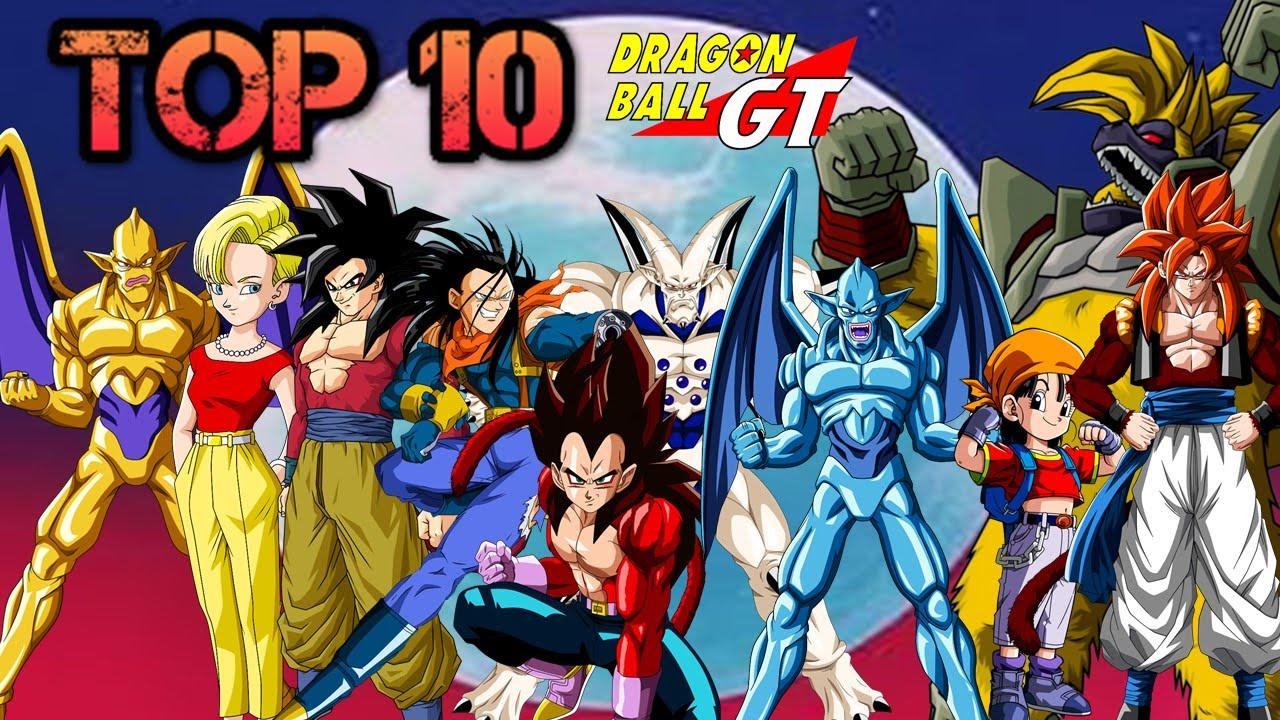 TOP 10 Personajes mas Fuertes de Dragon Ball Gt  YouTube
