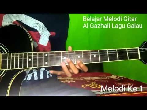 Belajar Melodi Gitar Al Ghazali Lagu Galau (Ost Anak Jalanan)