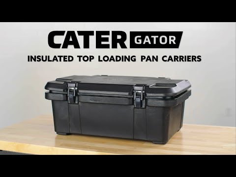 CaterGator Insulated Top Loading Pan Carriers