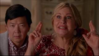 Glee - Brittany tells her parents that she and santana are getting married 6x06