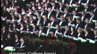 O Thou That Tellest Good Tidings to Zion (Hastings College Choral Union)