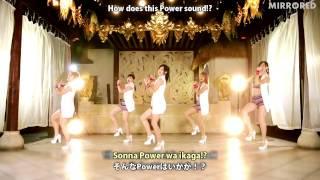 ℃-ute『The Power』(Dance Shot Ver.)(Mirrored)(Slow 70%)