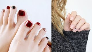How to Do Simple Nail Art Designs?: Beginners Step by Step Tutorial #6