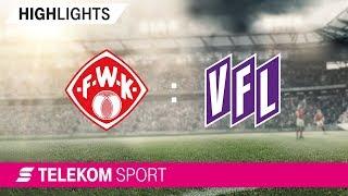 FC Würzburger Kickers - VfL Osnabrück | Spieltag 20, 18/19 | Telekom Sport