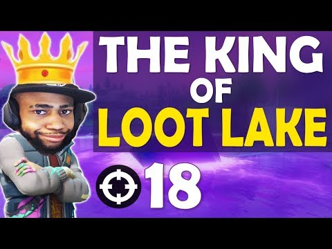 THE KING OF *NEW* LOOT LAKE | CALL ME SPIDERMAN | HIGH KILL FUNNY GAME- (Fortnite Battle Royale)