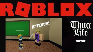 ROBLOX Cussing Out My Teacher For The First Time Ever! (Kevin Hart Animation)