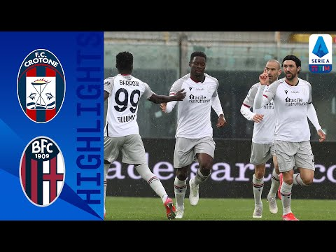 Crotone Bologna Goals And Highlights