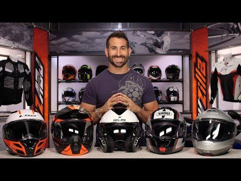 Best Modular Motorcycle Helmets at RevZilla.com