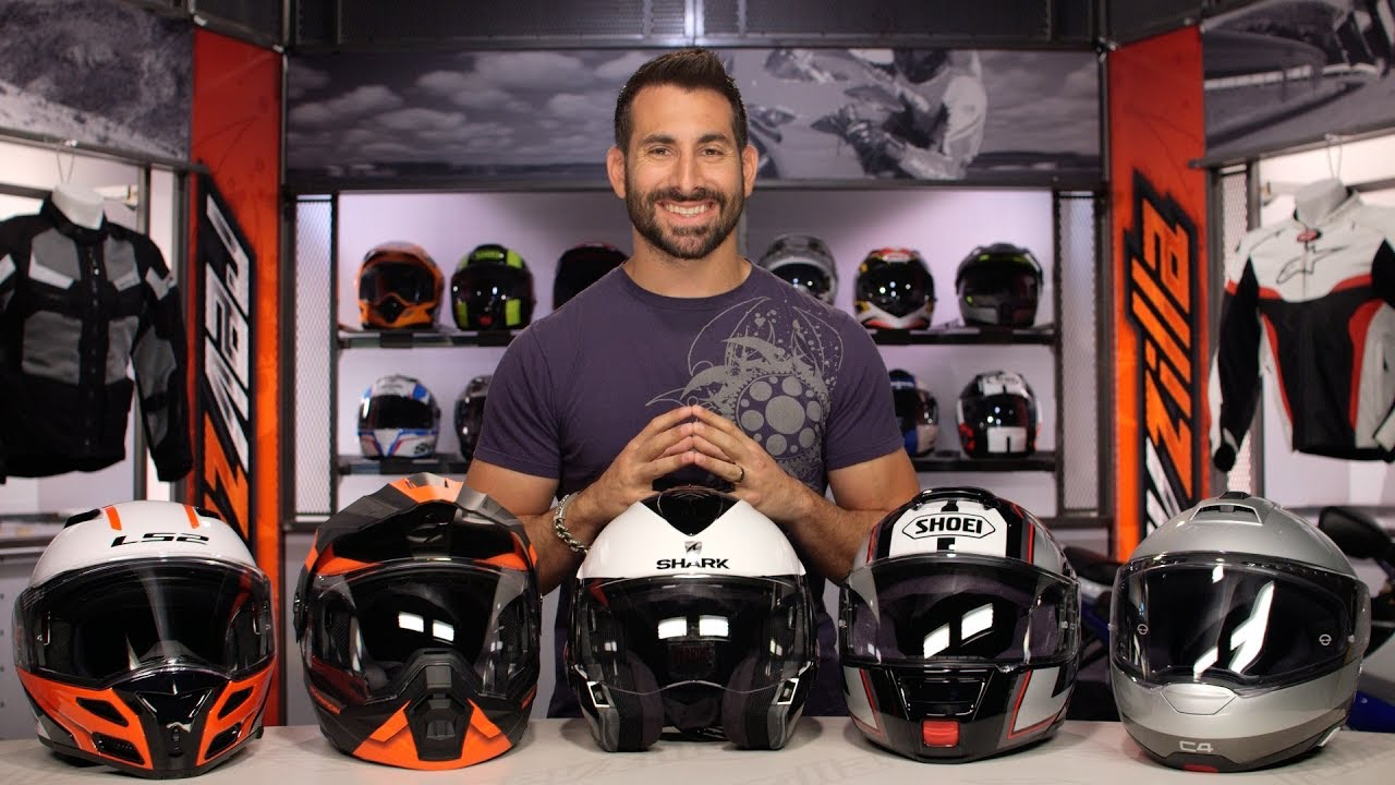 80aed9acbe Best Modular Motorcycle Helmets at RevZilla.com - YouTube