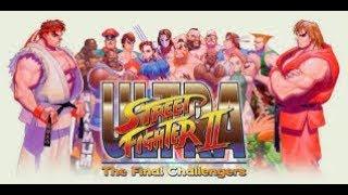 L´ets play en español, Ultra Street Fighter, Nintendo Swicth,  Chun- li Arcade. Otro Final