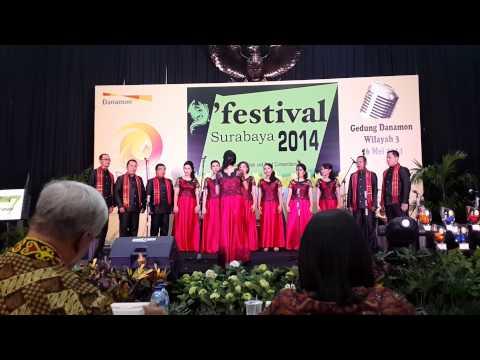 Bohemian Rhapsody & Indonesia Jaya - Danamon Choir Region Medan