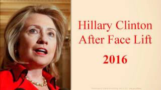 Hillary Clinton Speaking After Face Lift #85