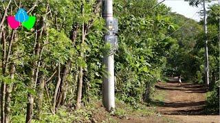 Masaya: Nandasmo cuenta con servicio de energía eléctrica de calidad