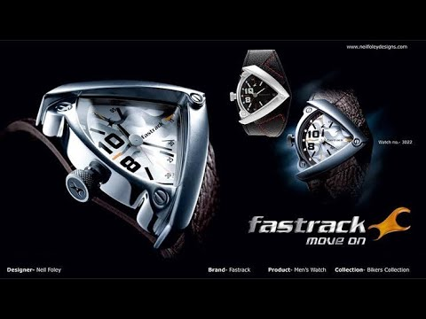 Fastrack Bikers Analog White Dial Men's Watch -NK3022SL01 II An Exotic Watch 🔥🔥🔥