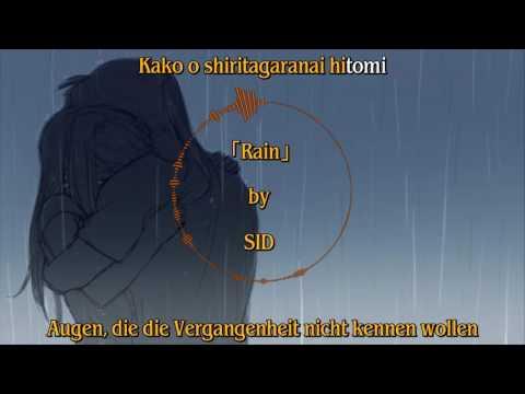 「Rain」by: SID Full Lyrics (Japanisch/Deutsch)
