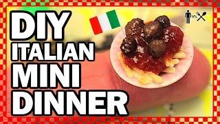 DIY MINI DINNER - Man Vs Din