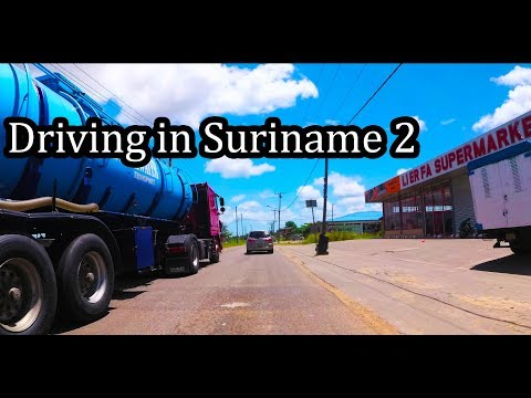 2017 - Driving in Suriname (2/2) - Going to Fort Nieuw Amsterdam